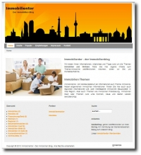 Immobilien Blog Screenshot